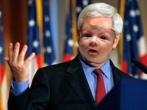 Is this your kid's face on Newt Gingrich's body?